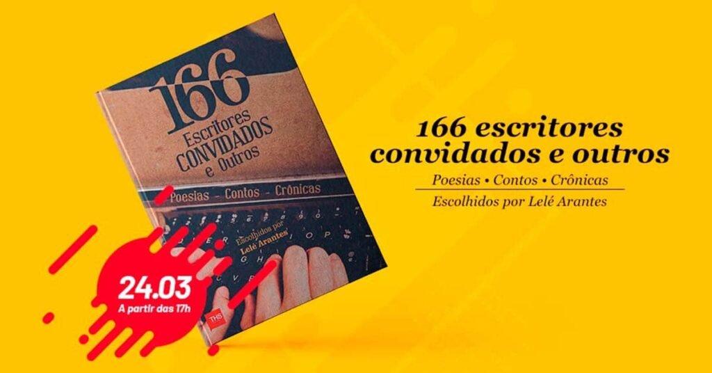 livro 166 autores convidados e outros